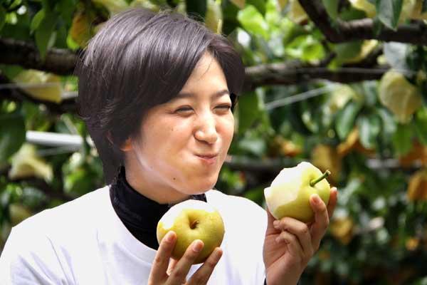 当梨狩り園の梨はお気に召しましたでしょうか