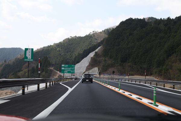 鳥取自動車道全線開通