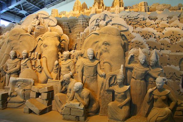 鳥取砂丘 砂の美術館