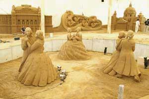 砂で世界旅行【オーストリア編】
