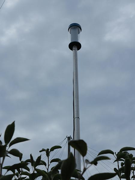 防蛾灯の設置